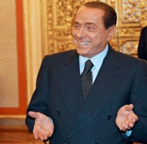 RUSSIA ITALY MEDVEDEV BERLUSCONI DIPLOMACY